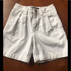 RL Polo white chino shorts almost perfect size 2T
